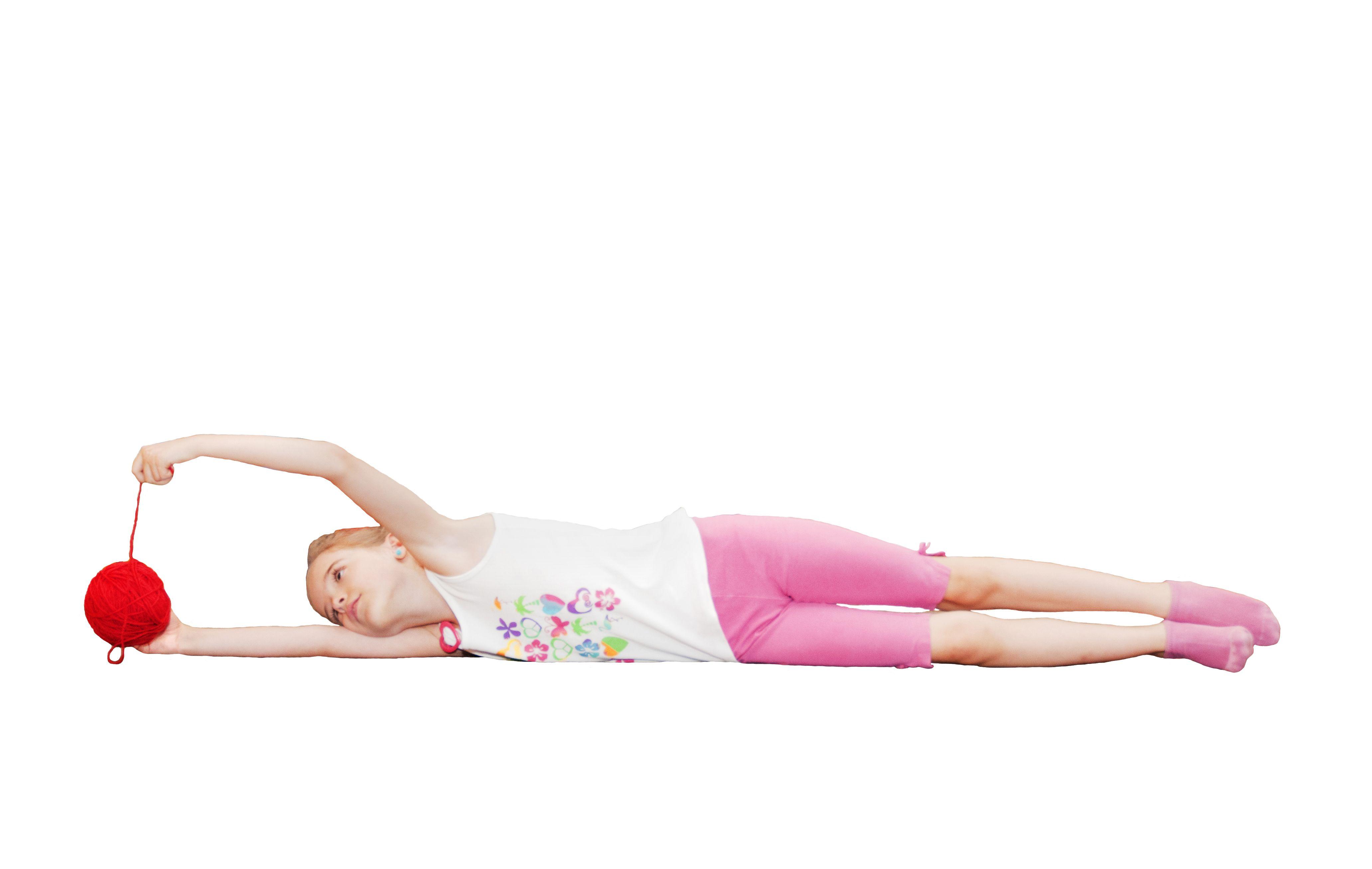 Görbe hát, rossz tartás gyermekkorban - Játékos feladatok a gyógytornásztól