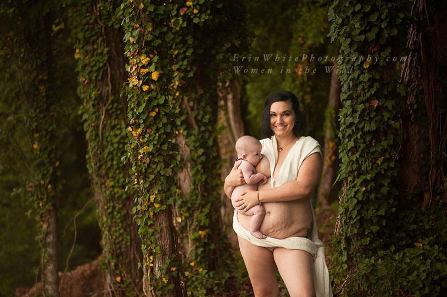 Felháborodást váltottak ki a szoptató anyák fotói - Nézd meg te is!