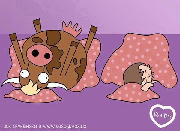 7 rajz, amit akkor értesz meg igazán, ha már voltál terhes - Így látja a grafikus anyuka