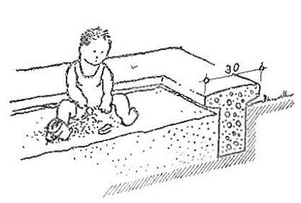 Kerti homokozó építése lépésről-lépésre, fázisfotókkal - a kertészblogger tippjeivel