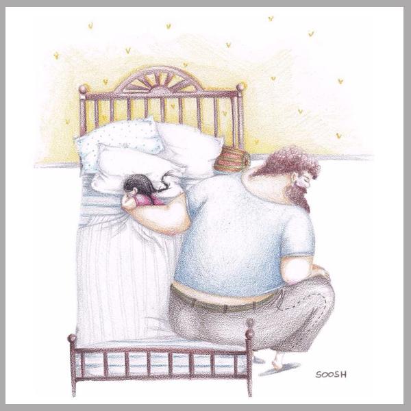 Így szeretik az apukák a kislányukat! 10 szívmelengető rajz, ami tökéletesen megmutatja, milyen a jó apa-lánya kapcsolat