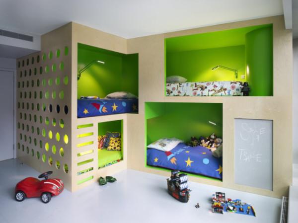 Gyerekszoba ötletek képekkel: 10 különleges emeletes ágy, ahova még te is szívesen befeküdnél