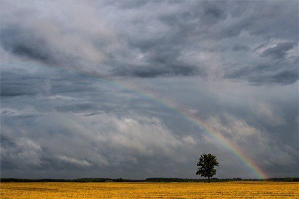 Fotók a tegnapi hatalmas viharról! Milyen idő lesz a hétvégén?