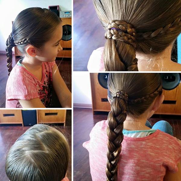Ezeket a gyönyörű frizurákat egy apuka készítette a kislányának! Annyira szereti őt, hogy még ezt is megtanulta a kedvéért