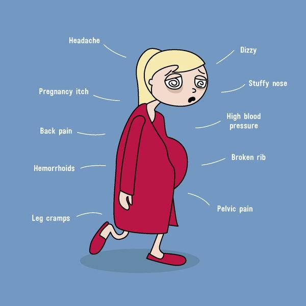 11 rajz, amit akkor értesz meg igazán, ha babát vársz vagy voltál már terhes - Ilyen a terhesség a való életben a grafikus anyuka szerint