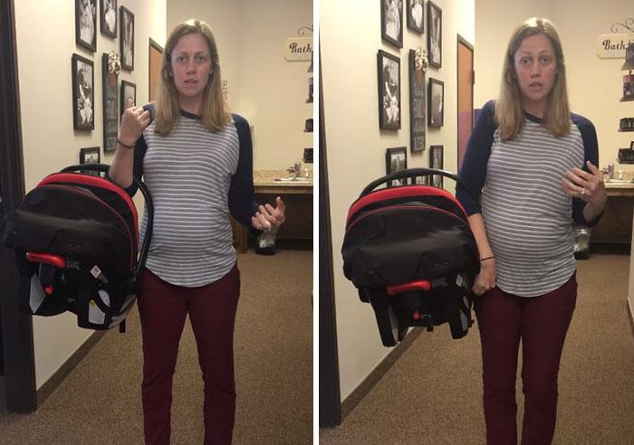 Kisbaba hordozása autósülésben: a legtöbb szülő nem ismeri ezt a hátkímélő módszert! Mutatjuk, hogyan csináld legközelebb