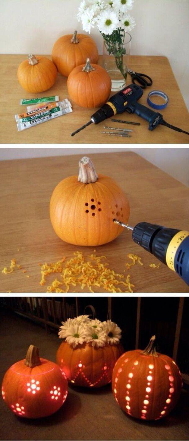 Halloween tök dekorációk
