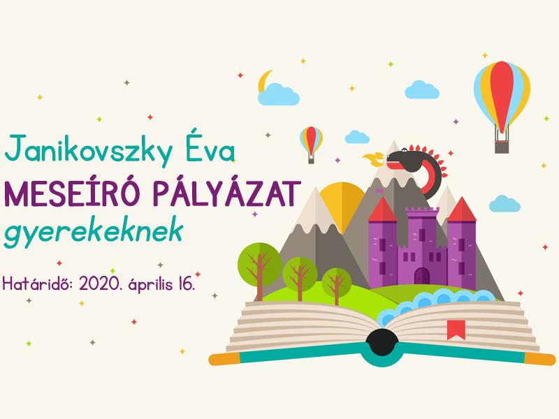 Janikovszky Éva meseíró pályázat gyerekeknek 2020: Témamegkötés nélkül várják a műveket! - Mutatjuk a részleteket