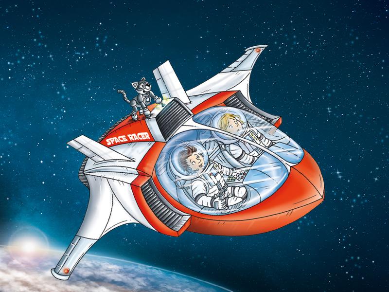 Ifjabb Tom kapitány kalandjai - Egy szuper galaktikus könyvsorozat kíváncsi gyerekeknek