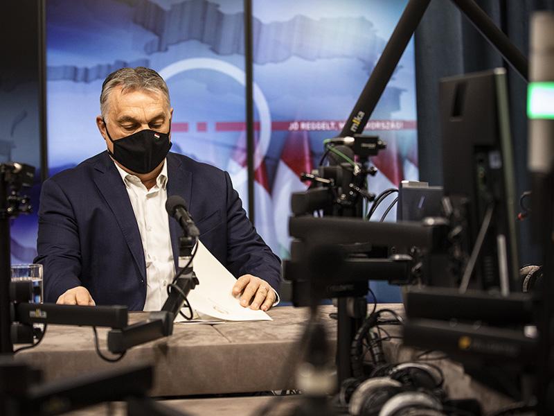 Orbán Viktor: Egyelőre semmilyen nyitás nem engedhető meg, de szabad nyarunk lesz