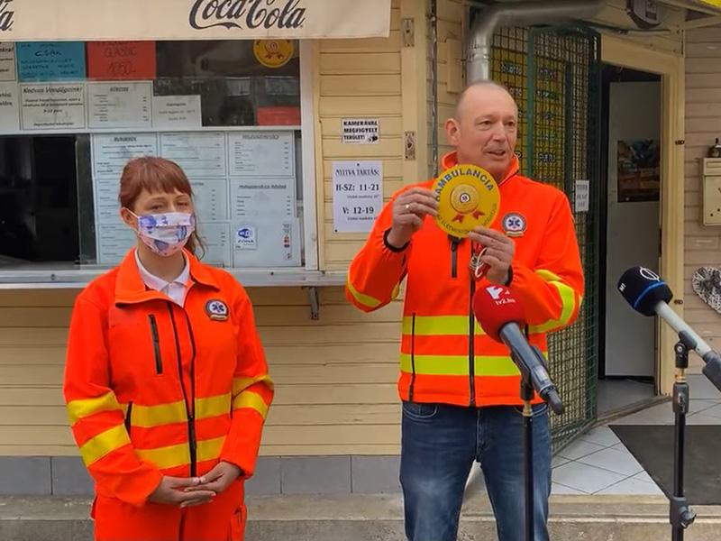 Jönnek a Hambulanciák! - Így lett egy rosszindulatú feljelentésből országos összefogás a mentőkért