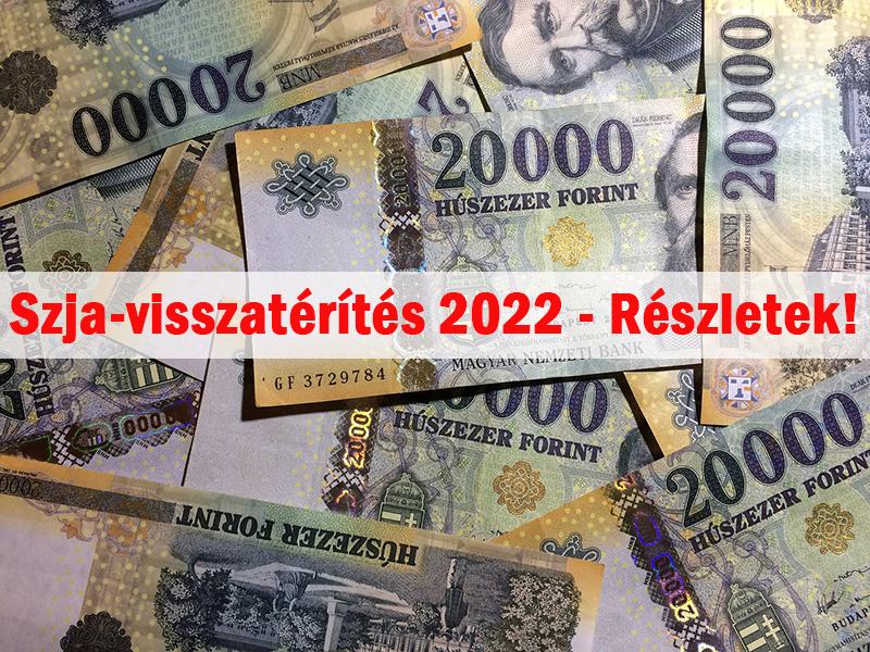 Kiderült: Nekik jár az szja-visszatérítés 2022 februárjában! - A Pénzügyminisztérium államtitkára ismertette a részleteket
