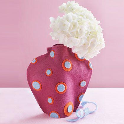 Virág és váza anyák napjára