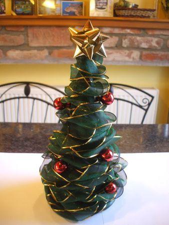 Karácsonyi asztaldísz - Te is elkészítheted!