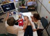 Csúcskategóriás szívultrahang berendezés a Tűzoltó utcai Klinikán