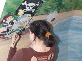 Hogyan készítsünk saját kezűleg mesefigurás falfestményt a gyerekszobába?