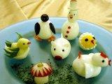 Ötletek főtt tojásra - gyerekeknek