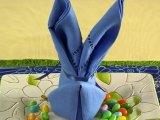 Szalvétából nyuszi? Ötlet a húsvéti terítéshez - VIDEÓVAL
