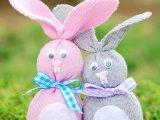 A legcukibb húsvéti dekoráció: készíts zokniból húsvéti nyuszit! - Plusz egy kakasos ötlet a hímes tojásokhoz