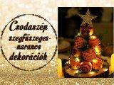 Így varázsolj karácsonyi illatot az otthonodba gyertya nélkül! - Csodaszép szegfűszeges narancs dekorációk, amiket te is elkészíthetsz