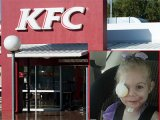Elküldték a 3 éves kislányt az étteremből, mert ijesztő az arca
