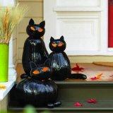 Halloween-ra TÖKegyszerű ötlet: Sütőtök-cica