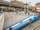 Ingyenes óriáscsúszda Budapesten, csak egy napig! Ott, ahol nem is gondolnád