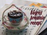 5 perces bögrés süti a mikróból - csokis és gyümölcsös
