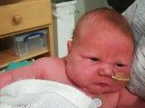 Óriásbébi született! Természetes úton jött világra a 6 kilós kisfiú - Fotókat is mutatunk róla