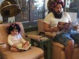 12 végtelenül aranyos apa-lánya fotó, amitől jó kedved lesz! - Nézd, milyen arcokat vág a kislány a képeken