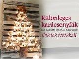 Karácsonyfák képekkel: 10 különleges karácsonyfa, ha valami egyedit szeretnél idén