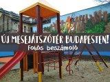 Új mesejátszótér Budapesten! Erre számíthatnak a gyerekek a nagy ho-ho-ho horgász játszótéren - Fotós beszámoló