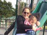 Soha ne csúszdázz együtt a gyermekeddel, veszélyes! - Ijesztő fotót osztott meg egy édesanya a kislányáról