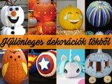 Halloween tök dekorációk: Szuper ötletek dísztökből, ha valami különlegeset szeretnél - Még faragnod sem muszáj