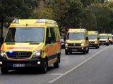 Rosszul lett az anyuka a reggeli készülődés közben, a mentők vitték iskolába a kislányát Budapesten