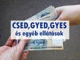 CSED, GYED, GYES és ellátások kisokosa