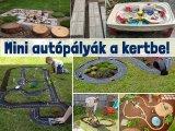 Így építs autópályát a kertben a gyereknek! 8 szuper ötlet ügyes kezű apukáknak - Fotókkal, leírással