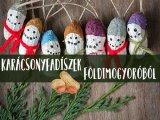 Karácsonyfadísz földimogyoróból: filléres, cuki dekoráció, amit a gyerekkel is elkészíthetsz! - Lépésről lépésre leírással