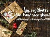 Karácsony 2018: Így segíthetsz már egyetlen könyvvel vagy csomaggal! Cipősdoboz-akció és más jótékonysági kezdeményezések