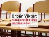 Orbán Viktor: Hétfőtől nem járnak a gyerekek iskolába, otthonról folyik a tanulás - Ezt lehet tudni a tanterven kívüli digitális munkarendről