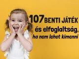 107 szuper benti játék és elfoglaltság gyerekeknek: Ennyi mindent csinálhattok otthon, ha nem lehet kimenni