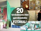 Térelválasztók házilag gyerekszobába, képekkel: Így lesz a testvéreknek külön kis kuckója egy szobán belül - 20 ötlet
