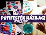 Pufifesték házilag: Így készíts pofonegyszerűen 3D-hatású festéket otthon! - Mikrózós és mikró nélküli változat
