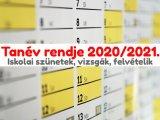 2020/2021-as tanév tervezett rendje: Mikor lesz őszi szünet, téli szünet, tavaszi szünet, érettségi, középiskolai felvételi?