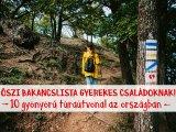 Őszi bakancslista családoknak: 10 gyönyörű túraútvonal az országban, ami gyerekkel is bejárható - Egynapos túraötletek