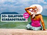 Balatoni szabadstrandok 2021: Itt fürdőzhetsz idén ingyen a Balatonnál - A legfrissebb strandlista