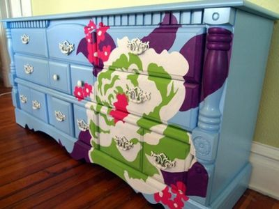 Így készíts régi bútorból vagány gyerekbútort - lépésről-lépésre fotókkal