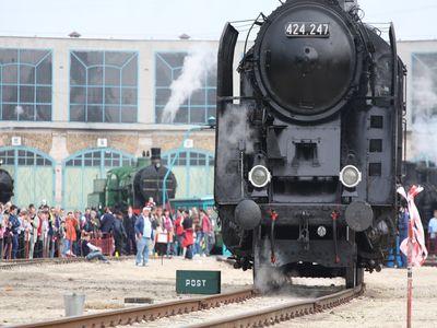 Közép-Európai Gőzmozdony Grand Prix a Vasúttörténeti Parkban
