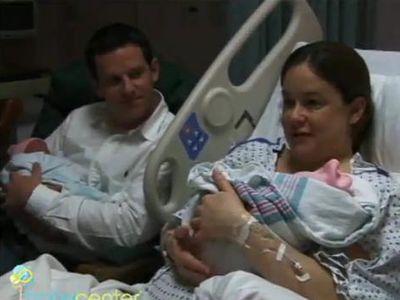 Szülés videók – iker babák születése