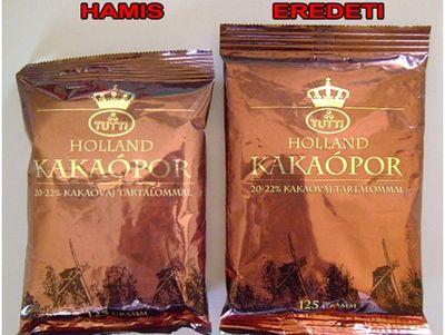 Vigyázat! Hamis kakaópor lehet forgalomban a boltokban